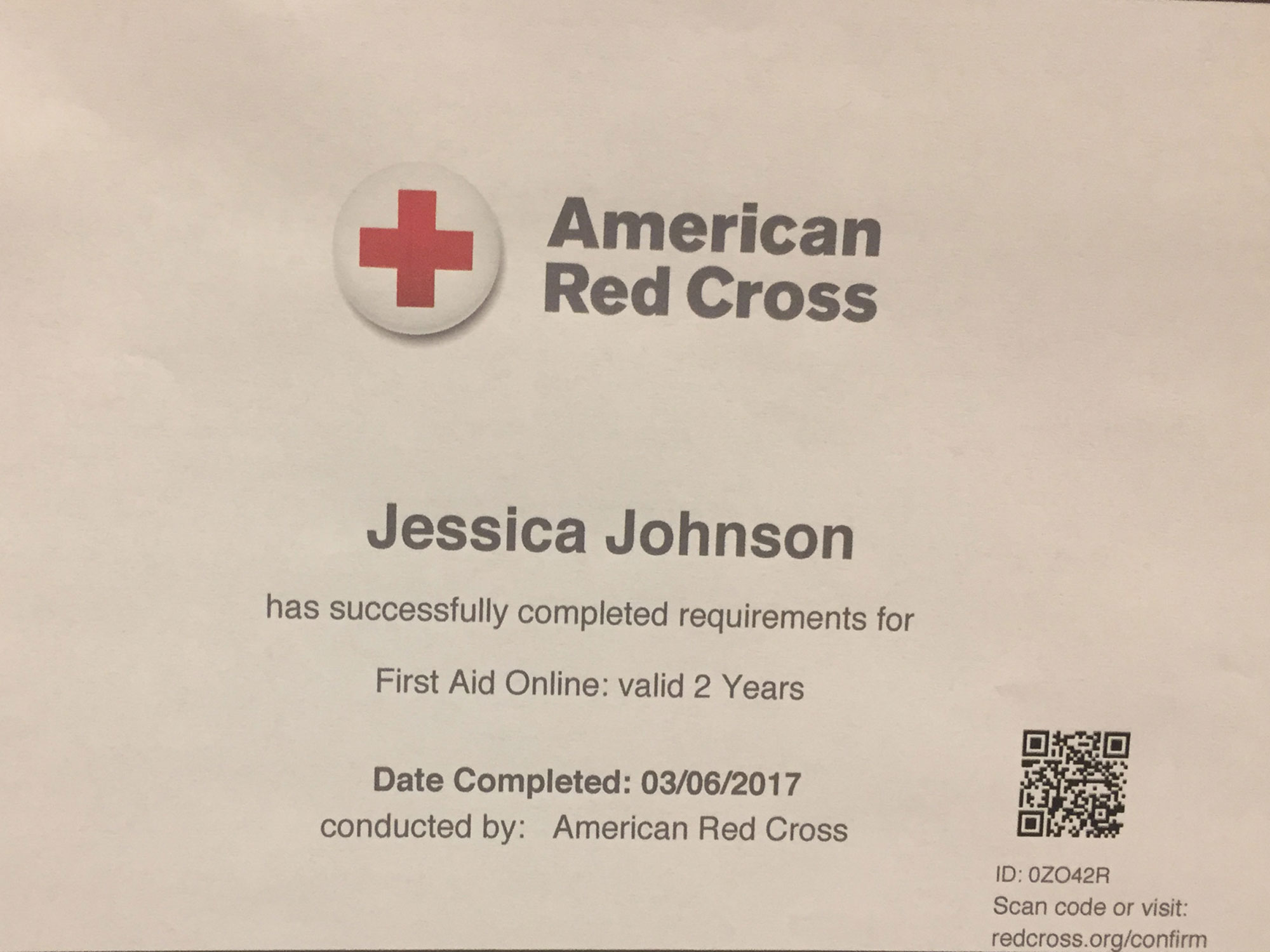american-red-cross-training