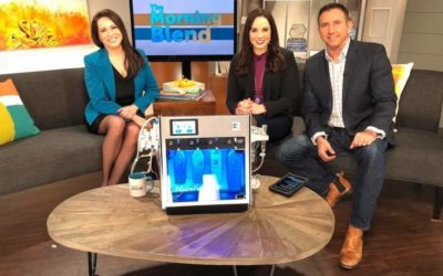 Living Beautifully Spa on the Morning Blend!