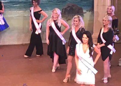 Miss Omaha on stage