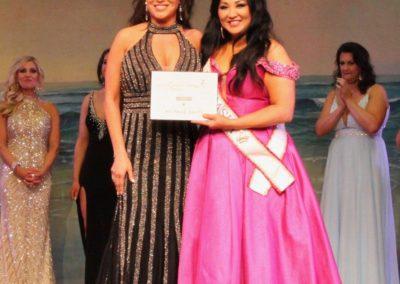 Miss Omaha awarded by Mrs Nebraska 2018